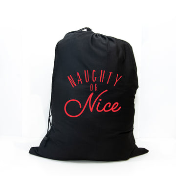 Santa Sack - Naughty or Nice