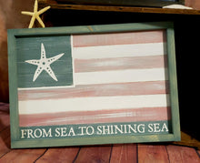 BBC Cedarvilee - Framed Flag Sign Paint Party - DEPOSIT- $20 balance will be due night of party