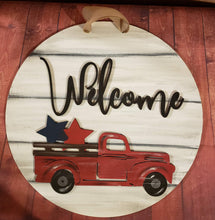 DIY Interchangeable - Welcome Truck Sign