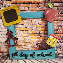 DIY - 1st Day of School Frame