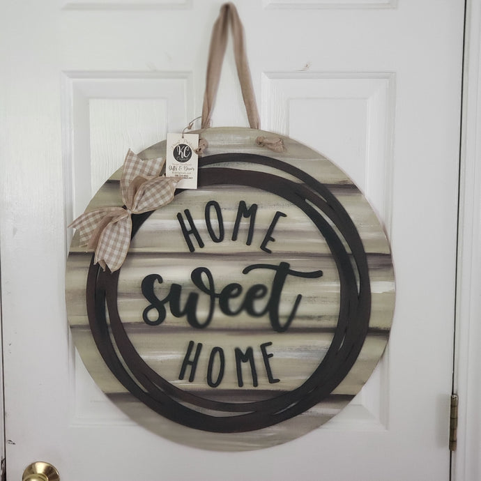Painted Home Sweet Home Sign
