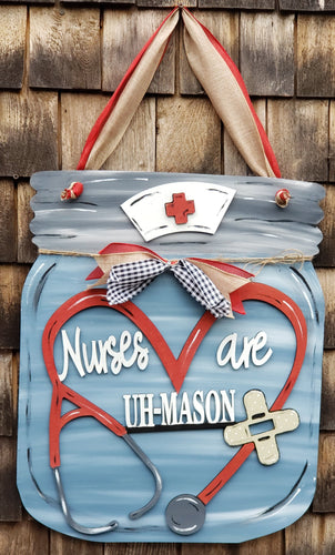 Painted Nurses are Uh-Mason Sign