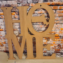DIY-Large HOME Massachusetts Sign - NO PAINT INCLUDED