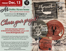 Debby Hynes PRIVATE Paint Party - DEPOSIT - Balance will be at event