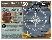 PRIVATE EVENT-Quincy Yacht Club Lazy Susan Paint Party  - DEPOSIT - $30 balance will be due night of party