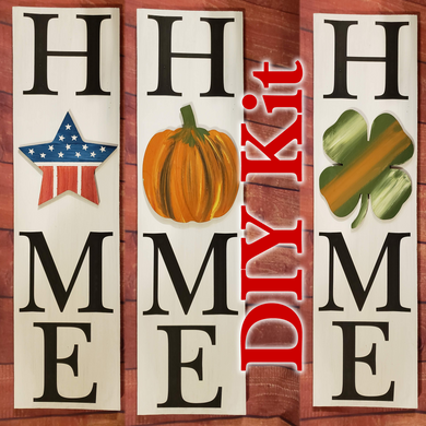 DIY Kit - HxME Interchangeable Sign SHIPPED