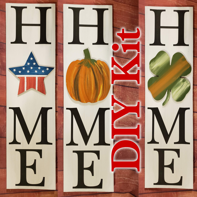 DIY Interchangeable - HxME Sign