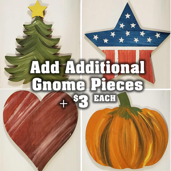 DIY Interchangeable - Additional Gnome Sign Pieces