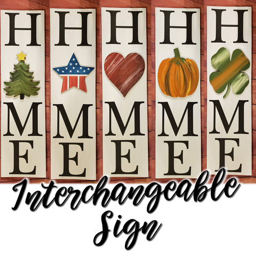 Painted Interchangeable - HxME Sign