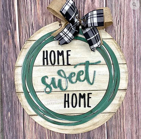 PREORDER - DIY - Home Sweet Home Sign