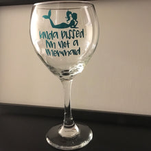 Kinda Pissed Wine Glass