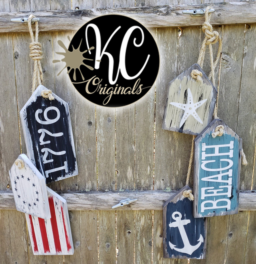 DIY - Nautical Signs