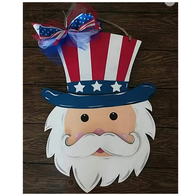 PREORDER - LIMITED - DIY- Uncle Sam Sign