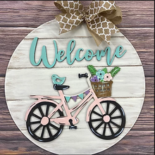 DIY-Welcome Bicycle Sign