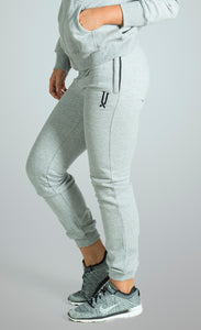 womens grey slim fit tracksuit bottoms james lloyd