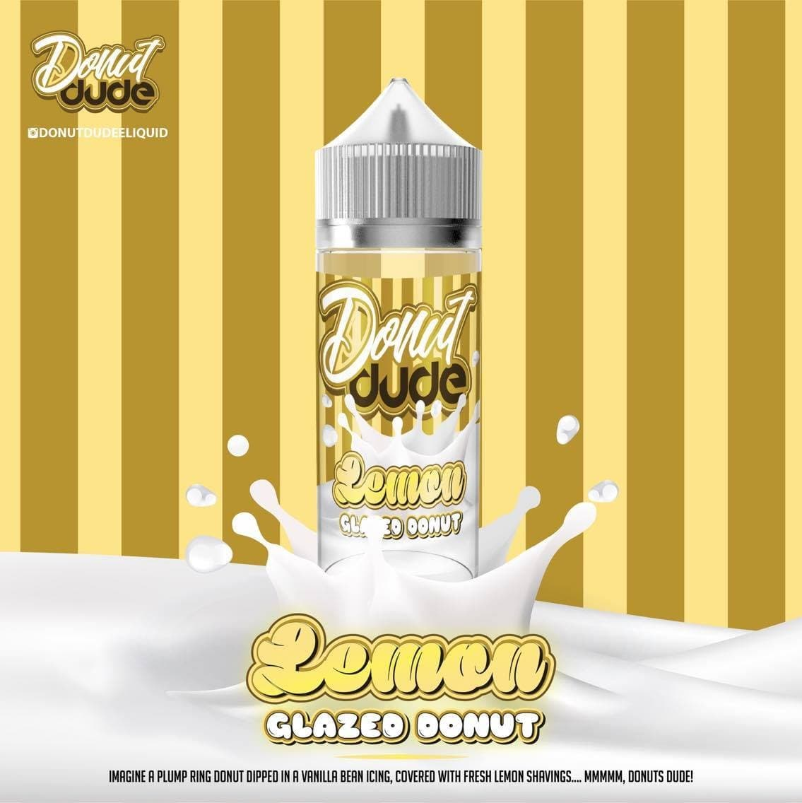 Donut dude - Lemon - 50ml