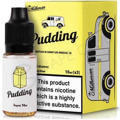 The Milkman - Pudding - 10ml