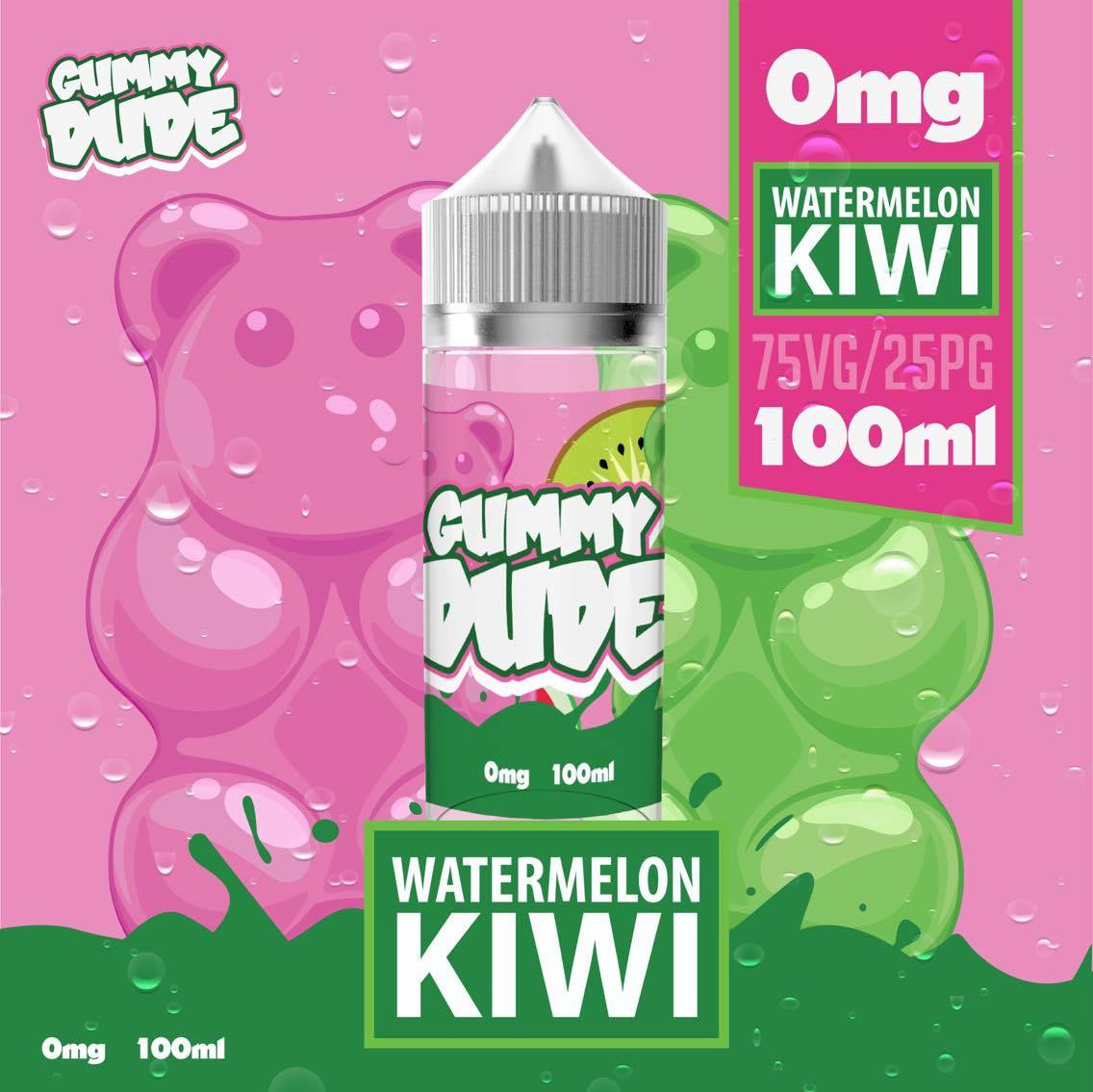 Gummy Dude - Watermelon Kiwi - 50ml