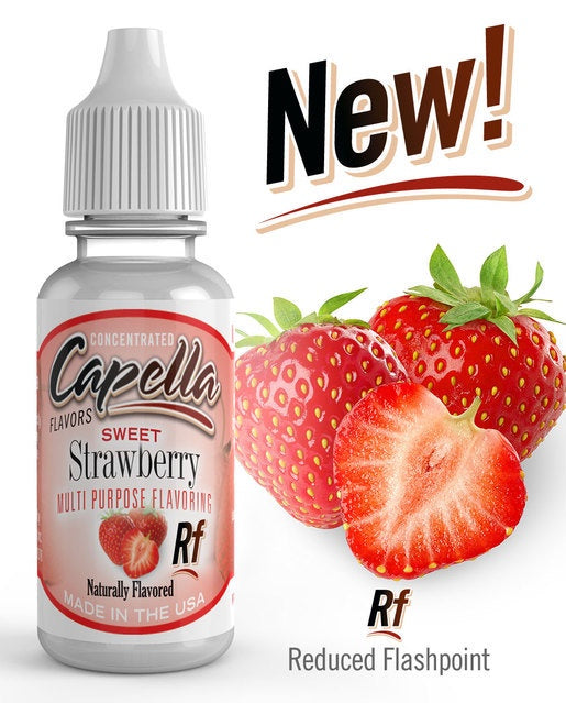 Capella - Sweet Strawberry Rf flavor - aroma - 13ml