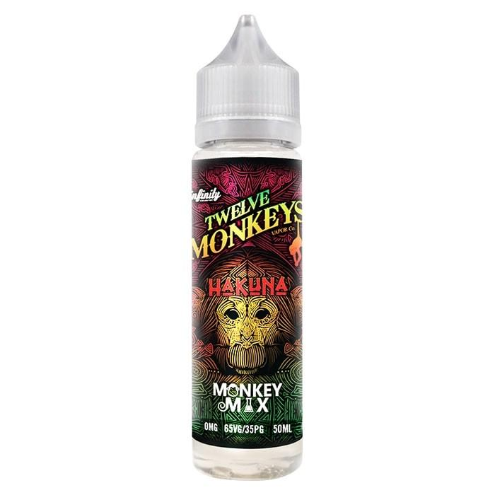 Twelve Monkeys Hakuna 50ml shortfill