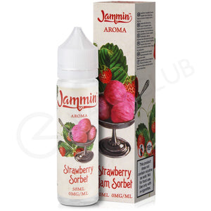 Jammin - Strawberry Jam Sorbet 50ml
