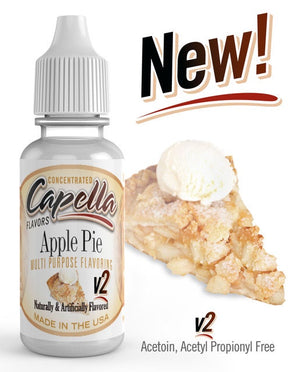 Capella - Apple Pie V2 flavor - aroma - 13ml