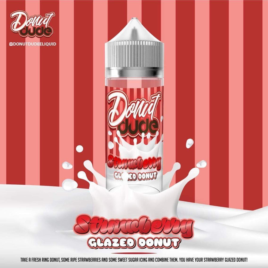 Donut Dude - Strawberry - 100ml