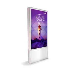 "FAB Blade Tower 65"" - 4K Digital Signage Kiosk"