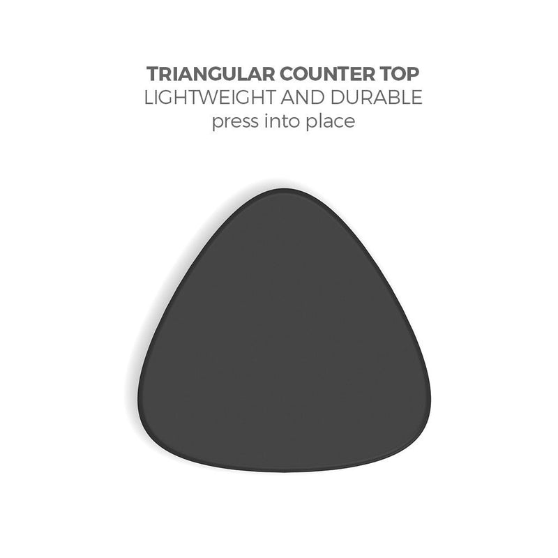 Brandcusi Triangular Counter