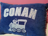 Personalised Train Cushion