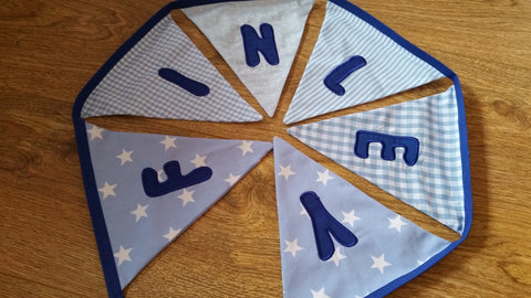 Personalised Bunting for Boys