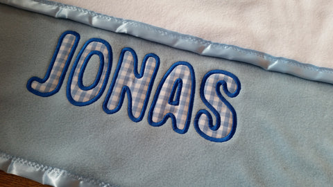 Personalised Baby Blankets for Little Boys