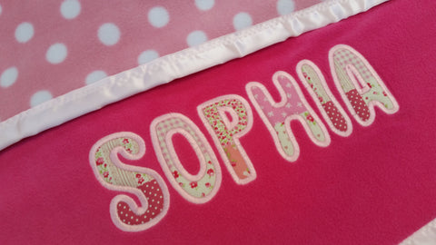 Personalised Baby Blankets for Girls