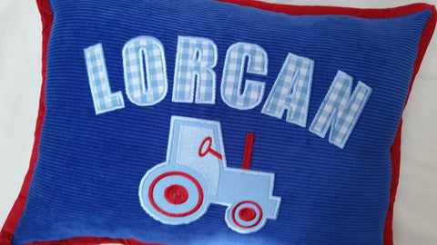 Personalised Tractor Cushion