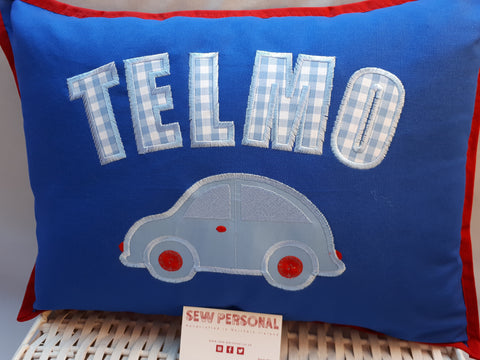 Personalised Car Cushion