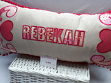 Large Personalised Cushion for Girls