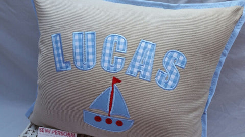Personalised Boat Cushion