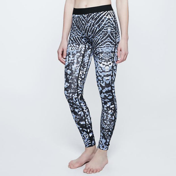 GLACIER PRINT LEGGINGS