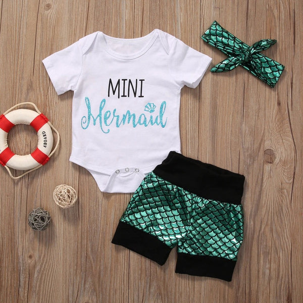 Mini Mermaid 3 Piece