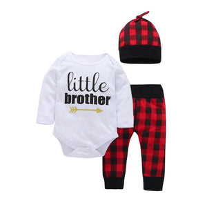 Little Brother Plaid Set