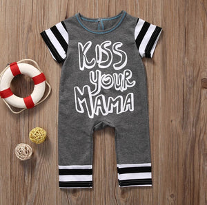 Kiss Your Mama Playsuit