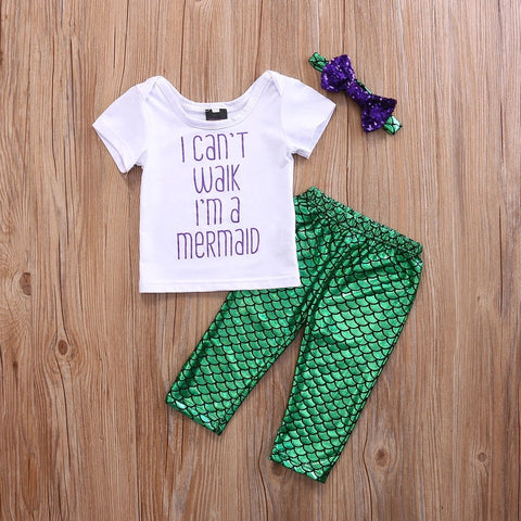 Can't Walk Mermaid Set