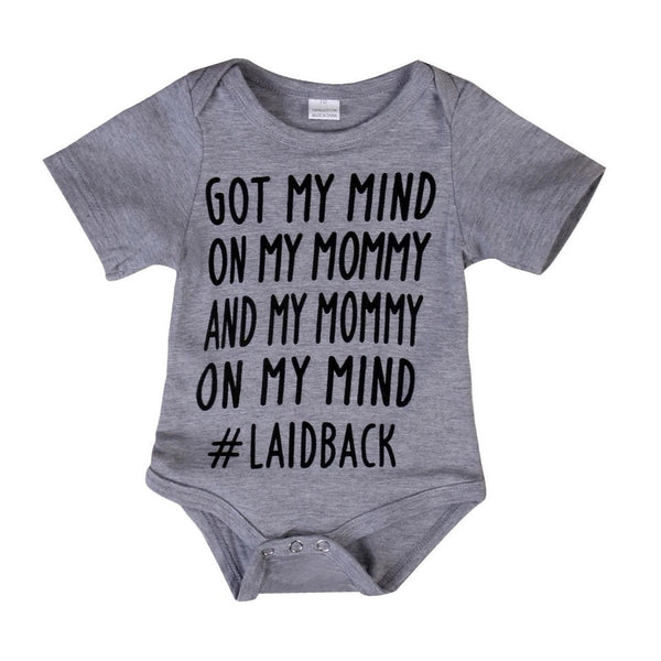 Mind on my Mommy Onesie