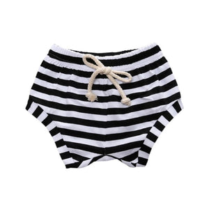 Colored Striped Short