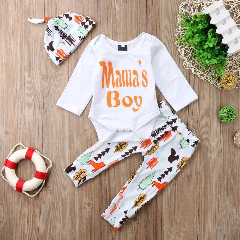 Woodland Mamas Boy Set