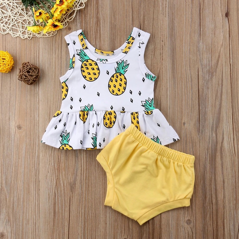Pineapple Tank Set