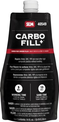 SEM CARBO FILL+™ (W/HARDENER) 14 OZ POUCH