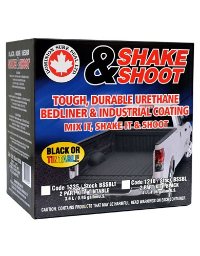 DOMINION SURE SEAL LTD Shank & Shoot Black