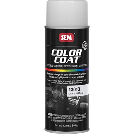 SEM COLOR COAT™ - SATIN GLOSS CLEAR 16 OZ AEROSOL