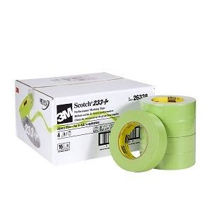 Scotch® Performance Green Masking Tape 233+, 36 mm width (1.41 inches), 26338